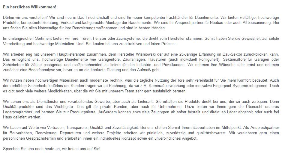 Garagentore für Bad Friedrichshall - PM Bauelemente: Tore, Fenster, Zaunsysteme, Türen, Fensterbau